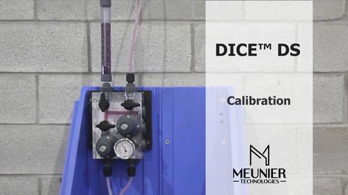 Étalonnage de pompe avec un DICE™ DS