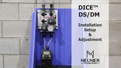 Installation DICE™ DS/DM